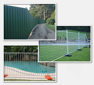 temporary hording, welded temporary fence and temporary pool fence are working.