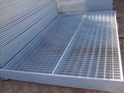 Temporary Fencing Panel Welded And Chain Link Mesh